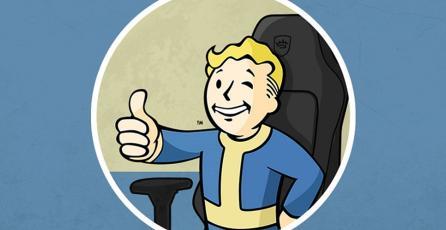 Anuncian sillas gamer con diseños de las franquicias de Bethesda