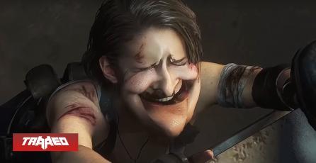 Modifican expresiones faciales de Resident Evil 3 Remake al 500%