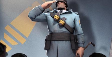 Jugadores de <em>Team Fortress 2</em> rinden tributo a Rick May, actor de voz de Soldier