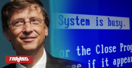 Son 22 años del 'Pantallazo Azul' de Bill Gates en la presentación de Windows 98