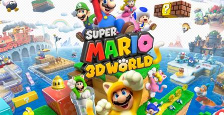 <em>Super Mario 3D World </em>para Switch aparece en una tienda online