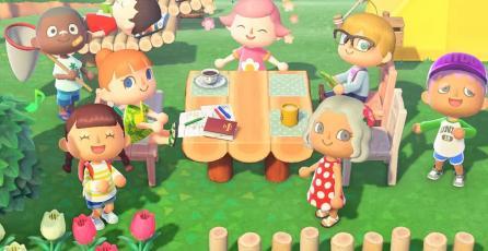 ¡<em>Animal Crossing: New Horizons</em> regresa a la cima en Reino Unido!