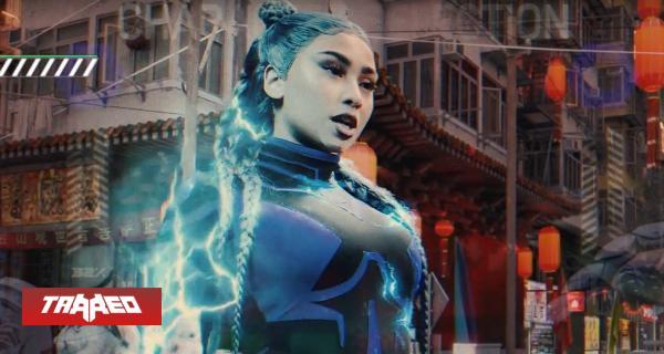 Al puro estilo Mortal Kombat Paloma Mami estrena su nueva canción Trap