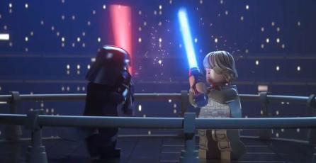 <em>LEGO Star Wars: The Skywalker Saga</em> luce increíble en su nuevo arte