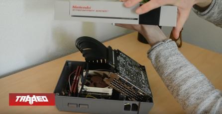 Fanático transformó una NES en un PC Gaming con una GTX 1660