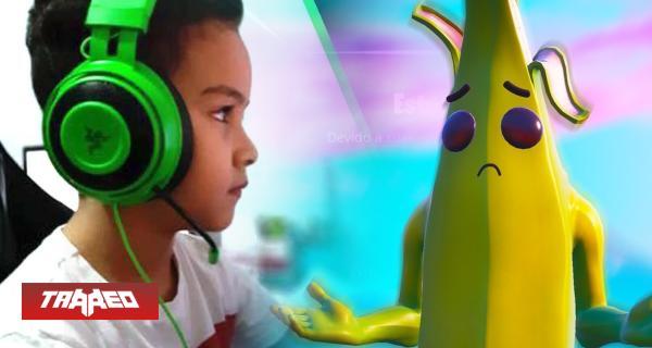 Entre lágrimas: Epic banea en vivo a jugador de 9 años por ser muy niño para competir en Fortnite