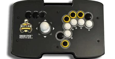Proyecto busca comercializar un control tipo Arcade para <em>Super Smash Bros.</em>