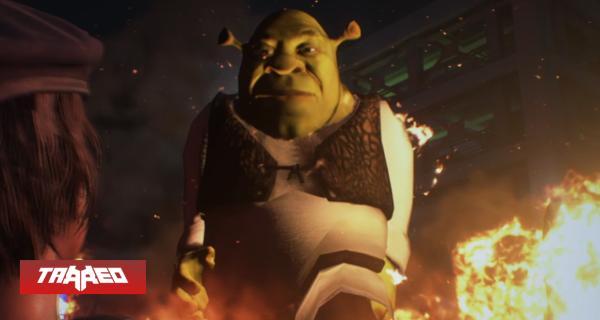 Mod reemplaza a Nemesis con Shrek en Resident Evil 3 Remake