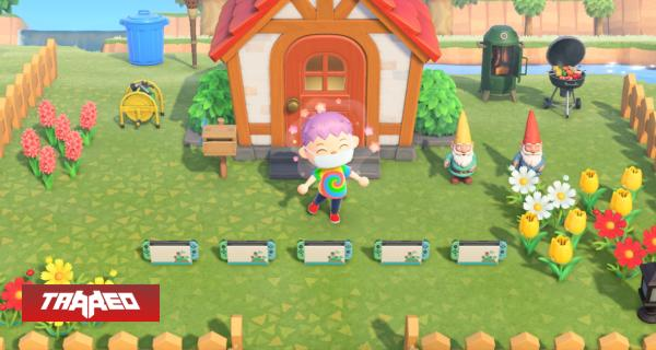 Animal Crossing: New Horizons vendió 13.41 millones de copias en 6 semanas