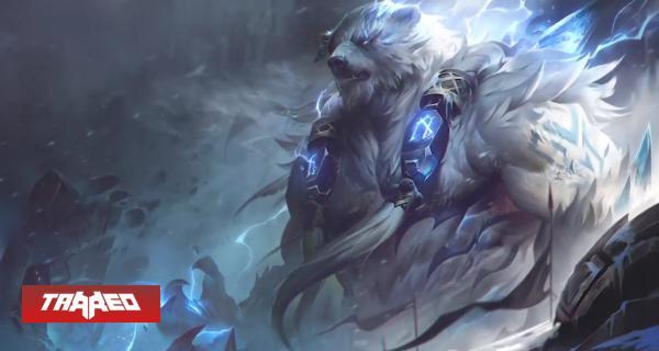League of Legends presenta el splash art reworkeado de Volibear en un teaser