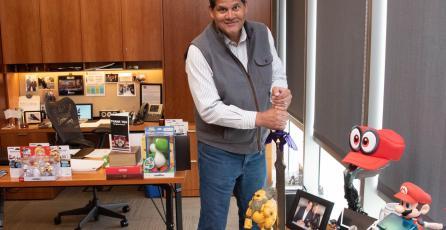 Reggie Fils-Aimé se convirtió en directivo de una compañía de juguetes muy importante