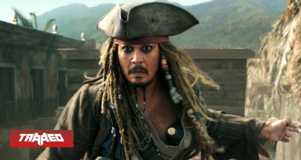 Reboot de Piratas del Caribe incluiría a Johnny Depp