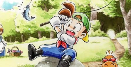 Una nueva entrega de <em>Harvest Moon</em> llegará a Nintendo Switch este año