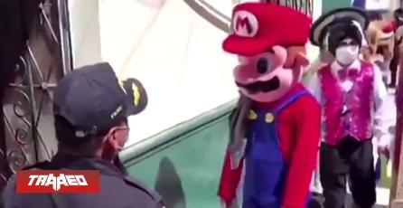"""Arrestan a """"Mario Bros"""" en Perú por no respetar Cuarentena Obligatoria"""