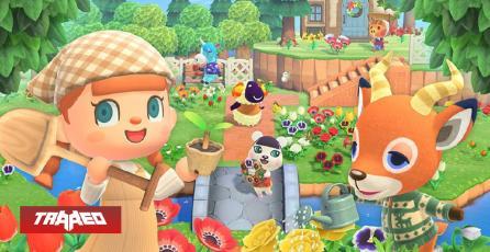 Nintendo confirma que 50% de ventas de Animal Crossing: New Horizon han sido en formato digital