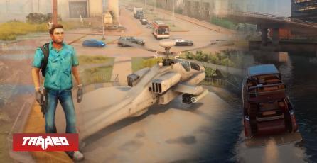 Así se vería GTA Vice City con el motor gráfico de GTA V