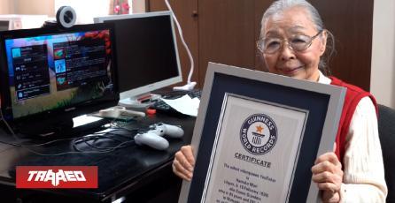 Abuela japonesa de 90 años es la youtuber de videojuegos más anciana del mundo