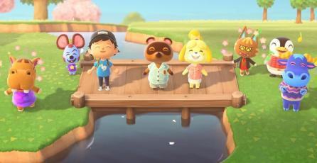 <em>Animal Crossing: New Horizons</em> no suelta la cima en Reino Unido