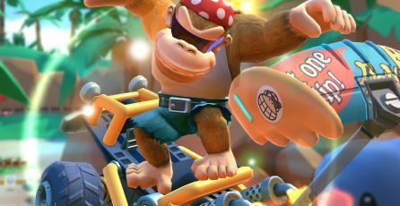 ¡Funky Kong y otros personajes de <em>Donkey Kong</em> llegaron a <em>Mario Kart Tour</em>!