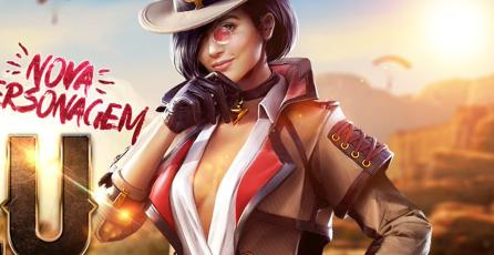 <em>Free Fire</em>: conoce a Clu, la nueva espía del Battle Royale
