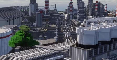 Usuarios de <em>Minecraft</em> podrán visitar una ciudad que lleva 10 años en construcción