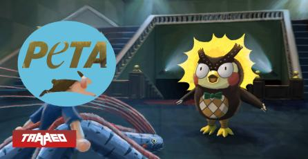 PETA realizó protesta en Animal Crossing para que Sócrates libere a los peces de su acuario