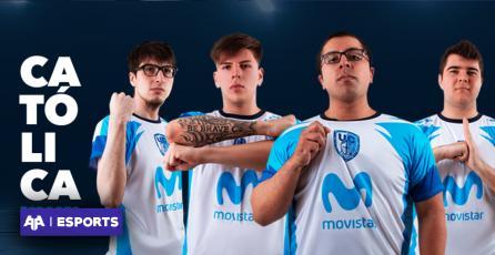 Hoy es la segunda fecha del Movistar OSS de League of Legends con el debut de Católica Esports