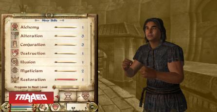 Jugador de The Elder Scrolls IV: Oblivion ha pasado 616 años en prisión, solo porque quiere