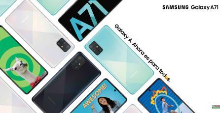 Galaxy A de Samsung se presentará con programa de YouTube para aprender a hacer contenido digital