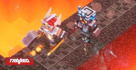 """Minecraft Dungeon tributa a Diablo II con Easter Egg del nivel de las """"Vacas Asesinas"""""""