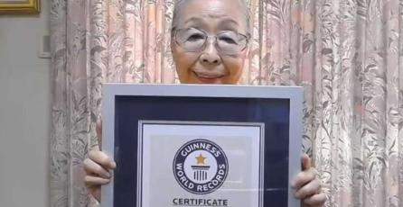 Abuela gamer obtiene Récord Guinness al ser la youtuber de mayor edad en el mundo