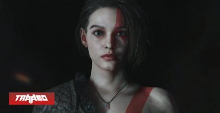 Artista convierte a Jill Valentine en Diosa de la Guerra en Crossover con Kratos