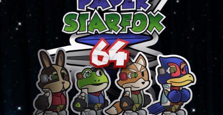 Fans mezclan <em>Star Fox</em> y <em>Sonic</em> con el estilo de <em>Paper Mario</em> y el resultado es genial