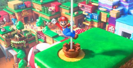 Super Nintendo World: así avanza la construcción del parque de diversiones