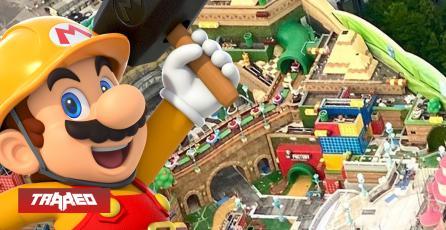 Parque temático de Super Nintendo en Universal Studios ya estaría listo
