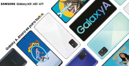La nueva serie Galaxy A ya está disponible en el país