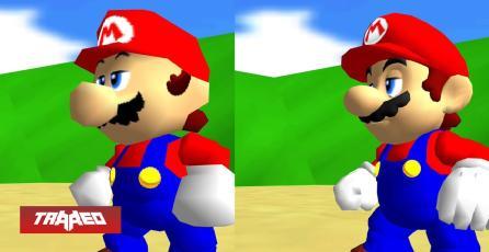 El famoso port de Super Mario 64 ahora tiene mods