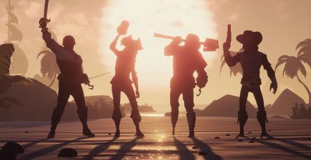 <em>Sea of Thieves</em> fue bien recibido en Steam y está entre lo más vendido