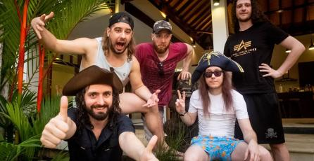 La banda de metal Alestorm hizo homenaje a <em>Donkey Kong 64</em> en su nuevo disco