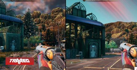The Outer Worlds fue estrenado en Switch con malas criticas debido a sus bajas texturas