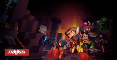 Minecraft Dungeons supera a Animal Crossing como lo más vendido en la eShop por primera vez desde su estreno
