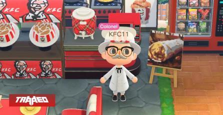 KFC estrena restaurante oficial en Animal Crossing para canjear comida real