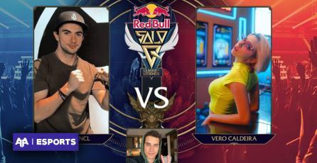 VeroCaldeira y Uberman se miden en el Showmatch de Red Bull SoloQ