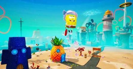 SpongeBob SquarePants Battle for Bikini Bottom Rehydrated -  Trailer de anuncio