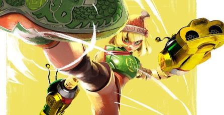 Min Min de <em>ARMS</em> es el nuevo personaje de <em>Super Smash Bros. Ultimate</em>