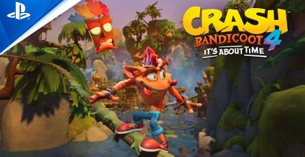 Trailer de Crash Bandicoot 4: It's About Time