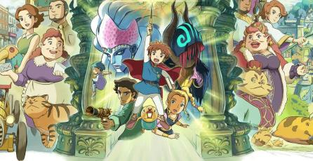 Quédate en casa: <em>Ni no Kuni: Wrath of the White Witch</em>, la combinación perfecta entre animación y RPG