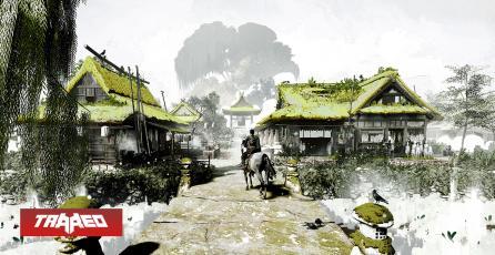 Mira este increíble arte conceptual de Ghost of Tsushima