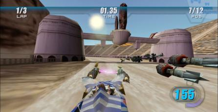 Star Wars Episode I: Racer gameplay PS4