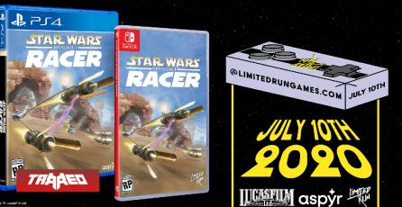 Star Wars Episode I: Racer confirma ediciones físicas para Switch y PS4